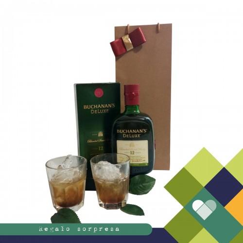 Celebrando con Whiskey